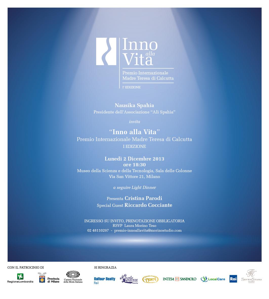 INVITO_Premio_Internazionale_INNO_ALLA_VITA_-_2_Dicembre_2013